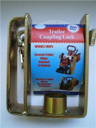 Ark Trailer Coupling Lock Heavy Duty