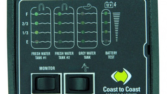 Jrv Tank Monitor Freshx2 Greyx1 Pump Switch Amp Battery
