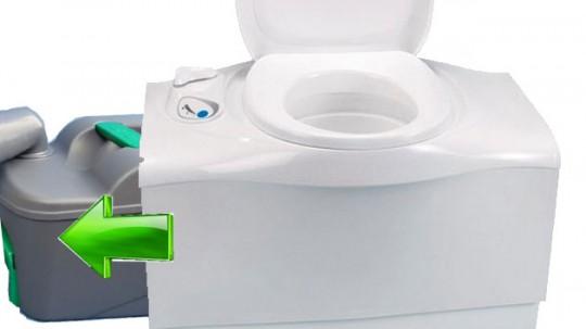 Thetford Cassette Toilet : Thetford c cassette toilet r h no door